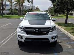 Colorado Hood Decal Fits 2015 2019 Chevrolet Colorado Tfb Designs