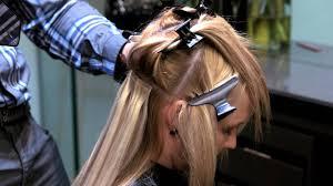 tape hair extensions tutorial
