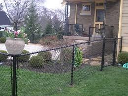Chain Link Metal Vinyl Coated Fencing Cincinnati Northern Ky Eme Fence Co Inc