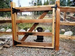How To Install Split Rail Fence Gate Wood Fence Gates Fence Design Diy Dog Fence