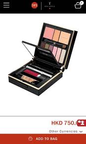 collection travel exclusive makeup