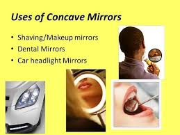 uses of concave and convex mirror