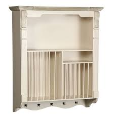 country wall plate rack 83cm colambi