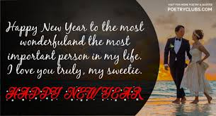 happy new year wishes for girlfriend wife new year images