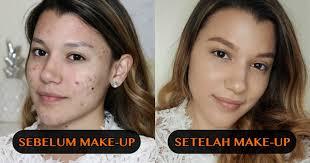 n video tutorial acne makeup
