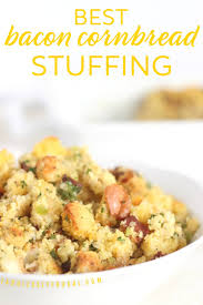 amazing bacon cornbread stuffing recipe