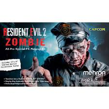 mehron makeup resident evil 2 zombie