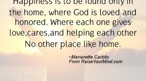 happiness quotes happiness is to be found only in the home