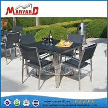 patio furniture ground glass table top