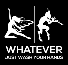 Amazon Com More Shiz Fairy Fawn Bathroom Sign Wash Your Hands Vinyl Decal Sticker Car Truck Van Suv Window Wall Cup Laptop One 6 Inch White Decal Mks0700 Automotive