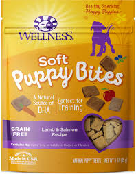 wellness soft puppy bites grain free