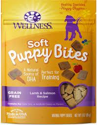 wellness soft puppy bites grain free