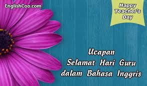 ucapan selamat hari guru dalam bahasa inggris happy teachers day