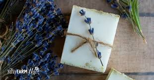 herbal soap without handling lye