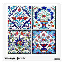 Grids Wall Decals Stickers Zazzle