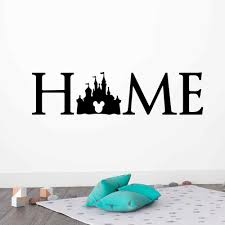 Disney Princess Castle Logo Wall Decal Quotes Mickey Mouse Sticker Kids Room Bedroom Accessories Art Home Decor Free Shipping Wall Stickers Aliexpress