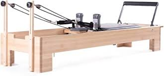 Amazon.com : balanced body Studio Reformer, Pilates Exercise Equipment with  Classic Foot Bar : Pilates Reformers : Sports & Outdoors