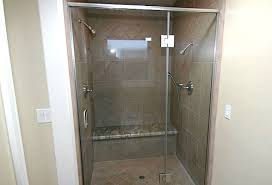 framed frameless shower doors corona ca