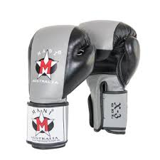 gel leather boxing gloves temple