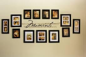 elegant photo wall decor family idea