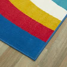 Balta Over The Rainbow Blue 5 Ft X 7 Ft Area Rug 3006660 The Home Depot