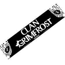 Rear Window Decal Clan Grimfrost