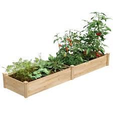 Greenes Fence 2 Ft X 8 Ft X 10 5 In Unfinished 0 5 In To 0 625 In T Value Cedar Raised Garden Bed Rcec24966t In 2020 Cedar Raised Garden Beds Cedar Raised Garden Raised Garden