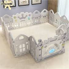 Hot Promo 8925 Kids Playground Baby Fence Indoor Park Family Amusement Toys For Children Safety Playpen For Baby Barriere De Securite Ball Pit Cicig Co