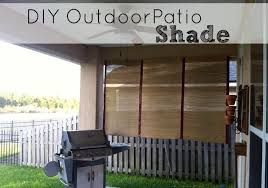 diy outdoor patio shade saving the