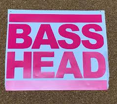 Basshead Bass Music Edm Bass Head Decal Laptop Phone Tumbler Car Sticker Reflective Holographic Vinyl Decal Stickers Bass Head Vinyl Decals