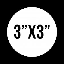 Custom 3 X3 Circle Vinyl Stickers Many Sizes Shapes Available Buy Custom Stickers Created Online Shipped Worldwide Styleflip Com