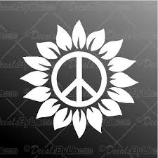 Peace Sign Hand Decal Peace Sign Hand Car Sticker Best Prices