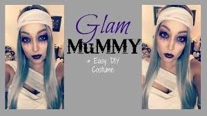 glam mummy makeup easy diy