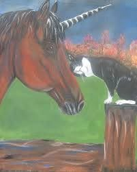 Autumn Friends Painting by Myra Cox
