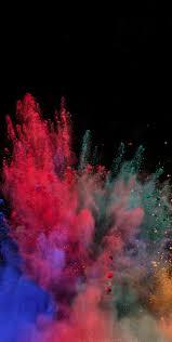 1440x2960 wallpaper color explosion