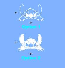 Lilo And Stitch Crawling Disney Car Truck Wall Laptop Window Vinyl Sticker Decal 6 00 Picclick