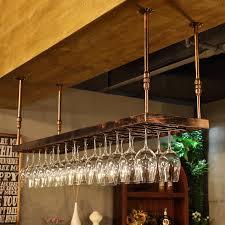 wine rack wine glass rack wall hanging