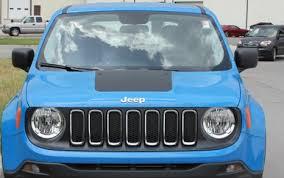 Jeep Renegade Decals Renegade Hood 2014 2018 2019 2020 2021