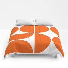 mid century modern orange square