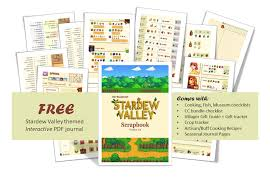 free stardewvalley themed guide