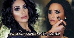 demi lovato makeup tutorial by dallas