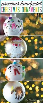 handprint ornament and diy