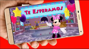 Minnie Mouse Tarjeta Invitacion Digital Cumpleanos Video 449