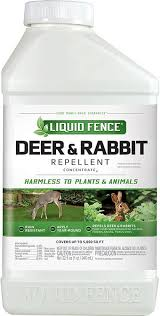 Amazon Com Liquid Fence 110 1 Quart Concentrate Deer Rabbit Repellent Rodent Repellents Garden Outdoor
