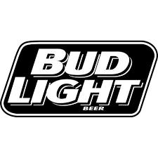 Bud Light Decal Sticker Bud Light Beer Decal Thriftysigns