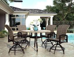 balcony height patio furniture dining