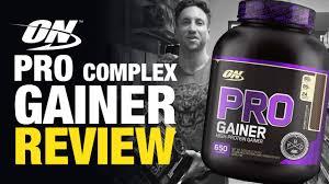 pro plex gainer by optimum nutrition