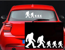 Bigfoot Family Stick Figure Decal Yeti Sasquatch Funny Sticker Car Tru Mymonkeysticker Com