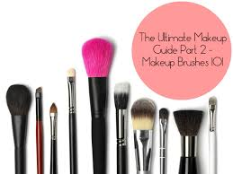 how to use makeup brushes and tools