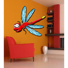 Shop Full Color Merry Dragonfly Full Color Decal Full Color Sticker Colored Merry Sticker Decal Size 48x48 Frst Overstock 15867953